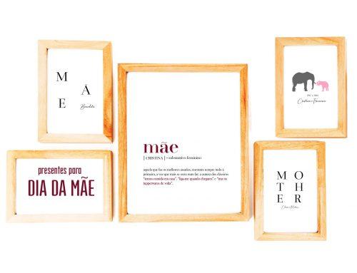 Ideias para presentes para Dia da Mãe