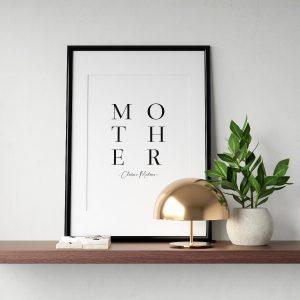 quadro personalizado dia da mãe
